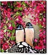 Feet Around The World #18 Acrylic Print