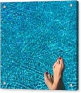 Feet Around The World #19 Acrylic Print