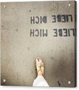 Feet Around The World #8 Acrylic Print