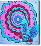 Felicity's Flower Acrylic Print