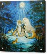 Feline Family... Love Acrylic Print