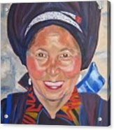 Fellow Traveller Great Wall Acrylic Print