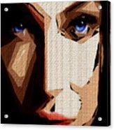 Female Expressions Lvi Acrylic Print