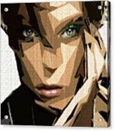 Female Expressions Xliv Acrylic Print