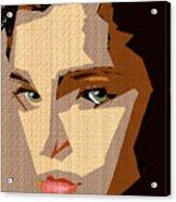 Female Expressions Xlviii Acrylic Print