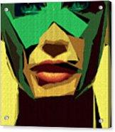 Female Expressions Xv Acrylic Print