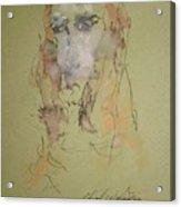 Female Face Study  C Acrylic Print