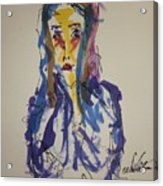 Female Face Study I Acrylic Print