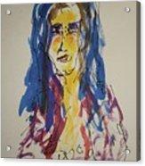 Female Face Study Y Acrylic Print