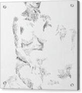 Female Figure 104 Acrylic Print