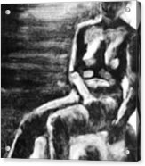 Female Iv Acrylic Print