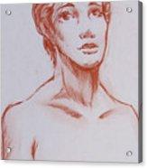Female Model 10 Acrylic Print