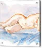 Female Nude 04 Acrylic Print
