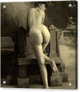 Female Nude, Circa 1900 Acrylic Print