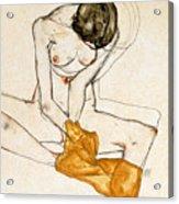 Female Nude Acrylic Print