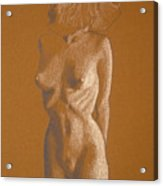 Female Nude Six Acrylic Print