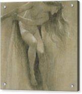 Female Nude Study  Acrylic Print