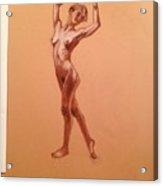 Female Nudity  Acrylic Print