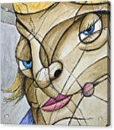 Female Portrait Acrylic Print