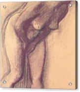 Female Standing Nude Acrylic Print