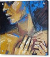 Feminine - Portrait Of A Woman Acrylic Print