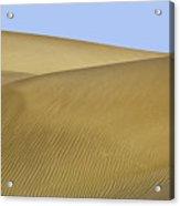 Femme Dans Les Dunes. Acrylic Print