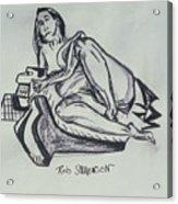 Femme En Misere Acrylic Print
