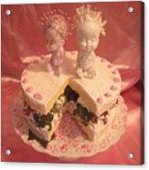 Femme Fruit Cake Acrylic Print