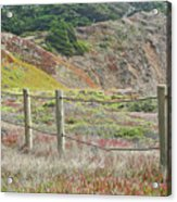 Fence Fort Fungston Acrylic Print