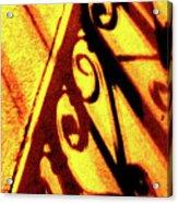 Fence Shadows 5 Acrylic Print