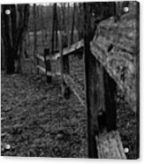 Fence To Nowhere Acrylic Print