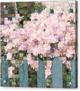 Fenced Mosaic Acrylic Print