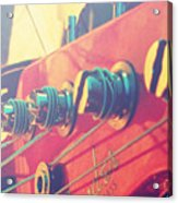 Fender Bass Guitar Acrylic Print