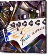 Fender Jazzmaster Acrylic Print