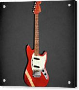 Fender Mustang 70 Acrylic Print
