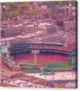 Fenway Park - Boston Acrylic Print