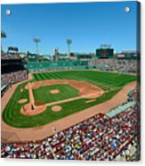 Fenway Park - Boston Red Sox Acrylic Print by Mark Whitt