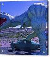 Ferious Dinosaur Trex Acrylic Print