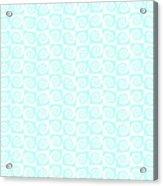 Fermat Spiral Pattern Effect Pattern. Acrylic Print