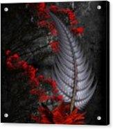 Silver Fern  Acrylic Print