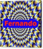 Fernando Acrylic Print