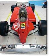 Ferrari 126ck Front Museo Ferrari Acrylic Print