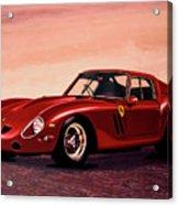 Ferrari 250 Gto 1962 Painting Acrylic Print
