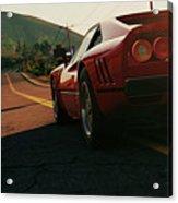 Ferrari 288 Gto At Sunset - 5 Acrylic Print