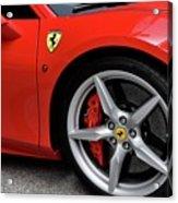 Ferrari 488gtb Acrylic Print