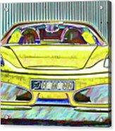 Ferrari 5 Acrylic Print