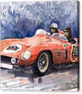 1953-1955 Ferrari 500 Mondial 1000 Miglia Acrylic Print
