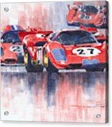 Ferrari 512 S 1970 24 Hours Of Daytona Acrylic Print