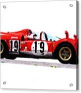 Ferrari 512s Mario Andretti 1970 Acrylic Print
