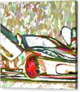 Ferrari 9 Acrylic Print
